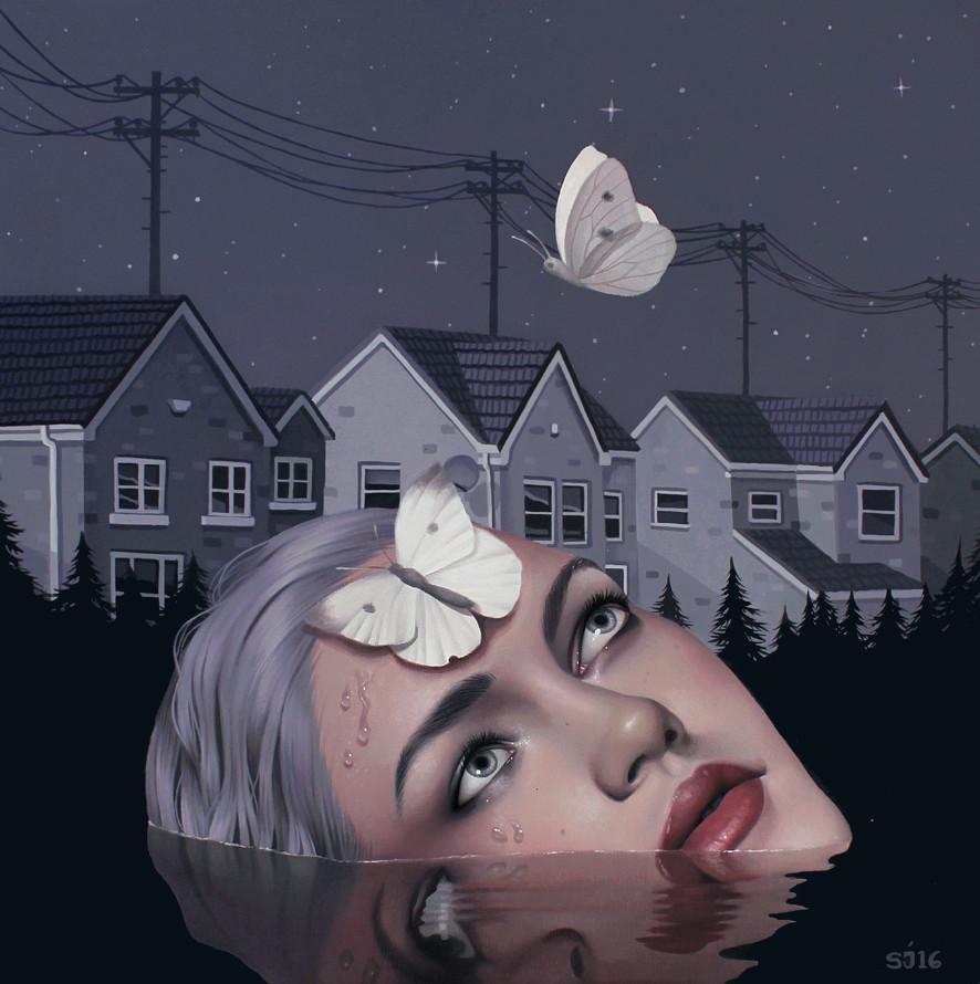 alteredside Sarah Joncas - melodramatic narratives into visual arts
