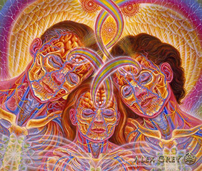 alteredside Alex Grey - legendary mystic visionary artist