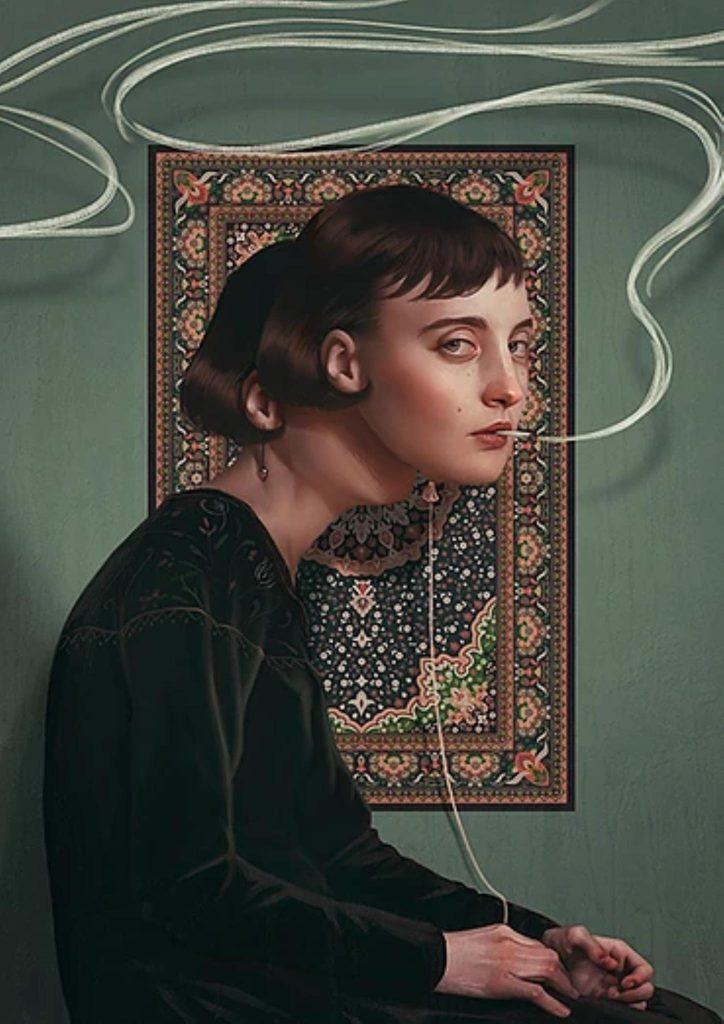alteredside Aykut Aydogdu - suffered for love art