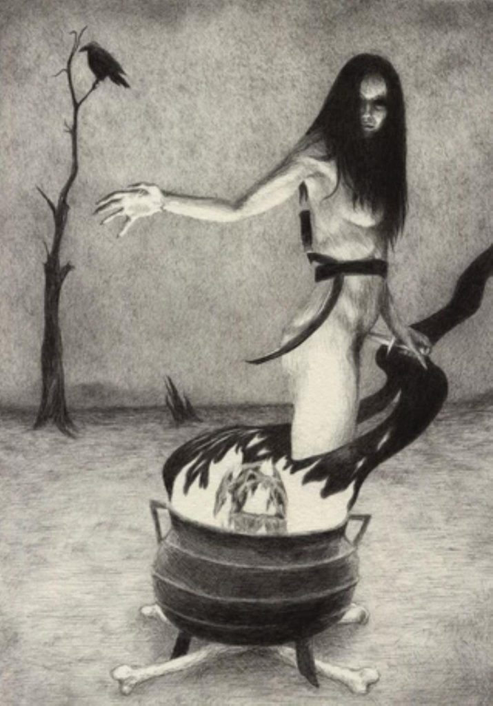 alteredside Bethany White - occult esoteric dance with shadows