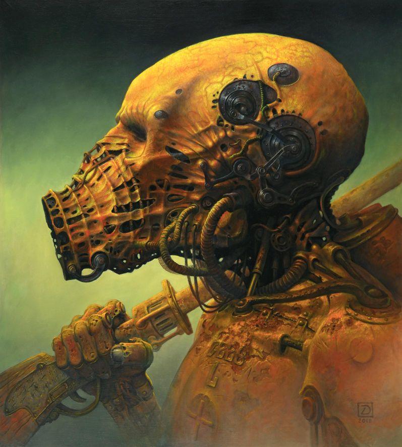 alteredside Dariusz Zawadzk - exceptional painter of dramatic dark fantasy