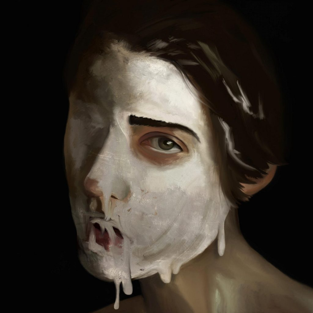 alteredside Kim Jakobsson - digital surreal and dark painter