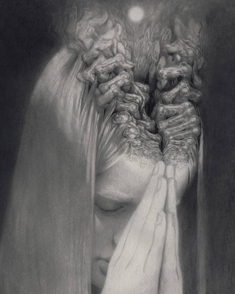 alteredside Miles Johnston - surreal drowned love