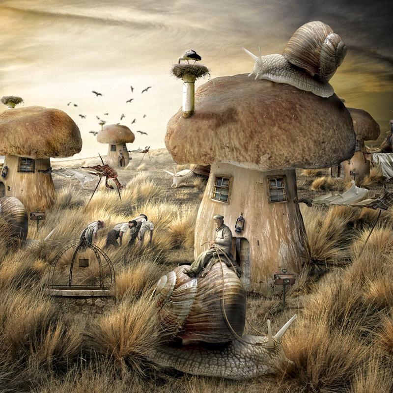 alteredside Silvio Bertonati - photorealistic worlds from Italy