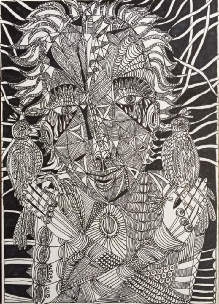 alteredside Cathy Butuza - shamanic cubism from heart