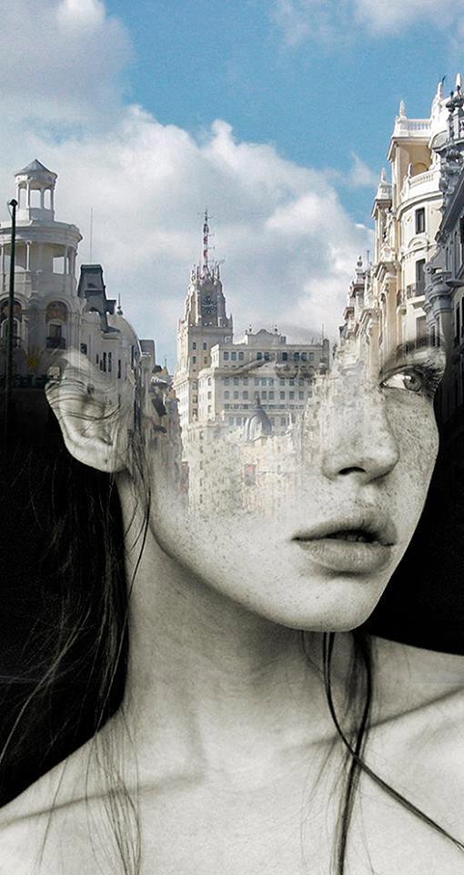 alteredside Antonio Mora - beautiful portrait montage