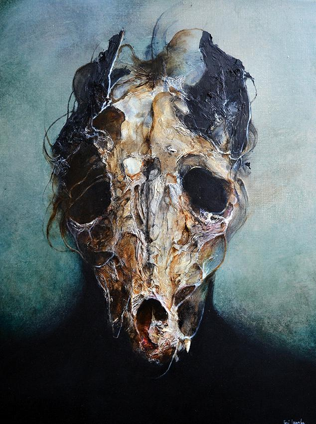 alteredside Eric Lacombe - dark soul on an easel