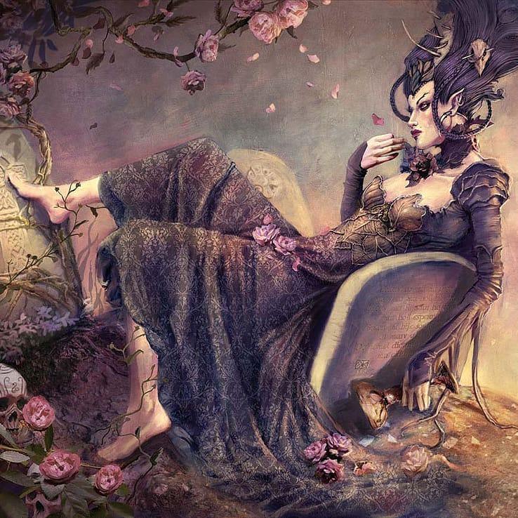 alteredside Jean-Sebastien Rossbach - fantasy awake artist