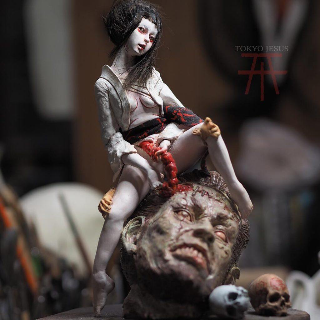 alteredside Sayu Tokyo Jesus - Japanese Sexy Death Art