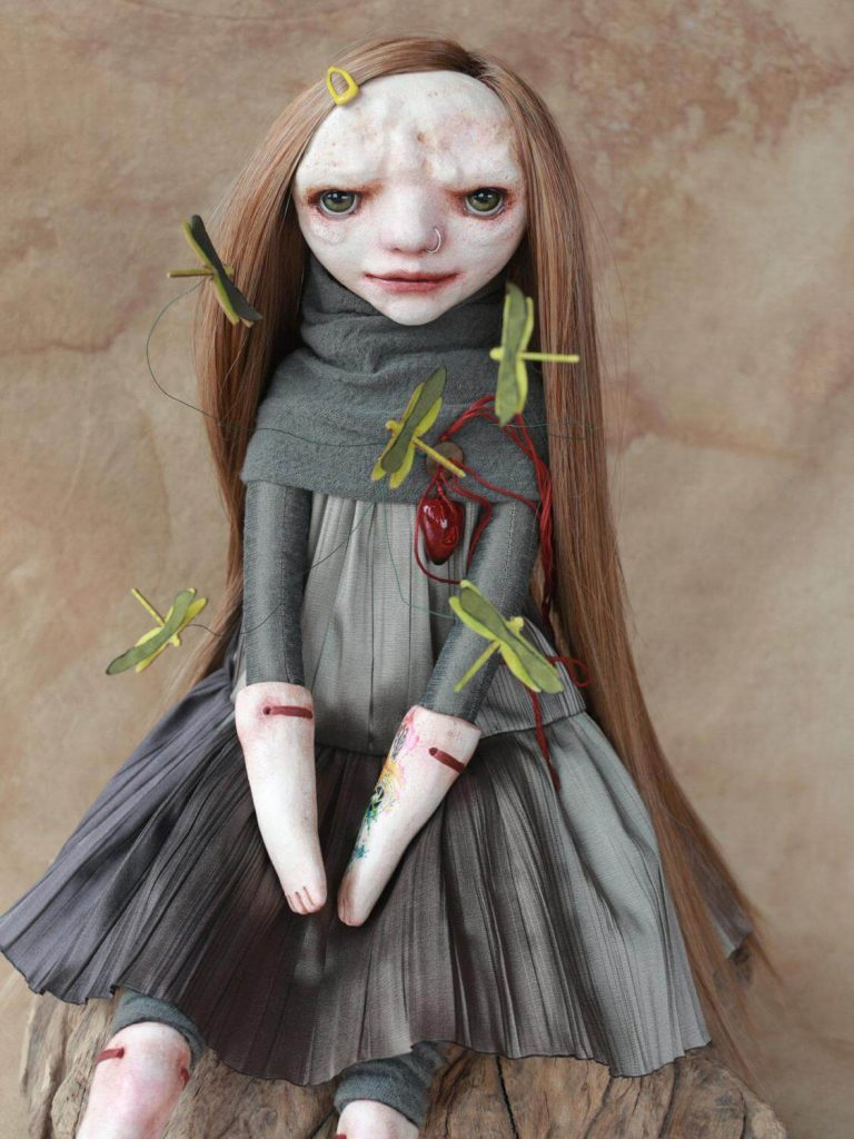 alteredside Klaudia Gaugier - Horka Dolls peculiar things with soul