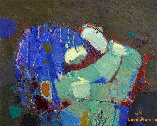 alteredside Vladimir Karnachev - oil Russian soul