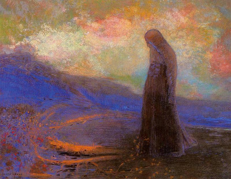 alteredside Odilon Redon - dark side of the dream