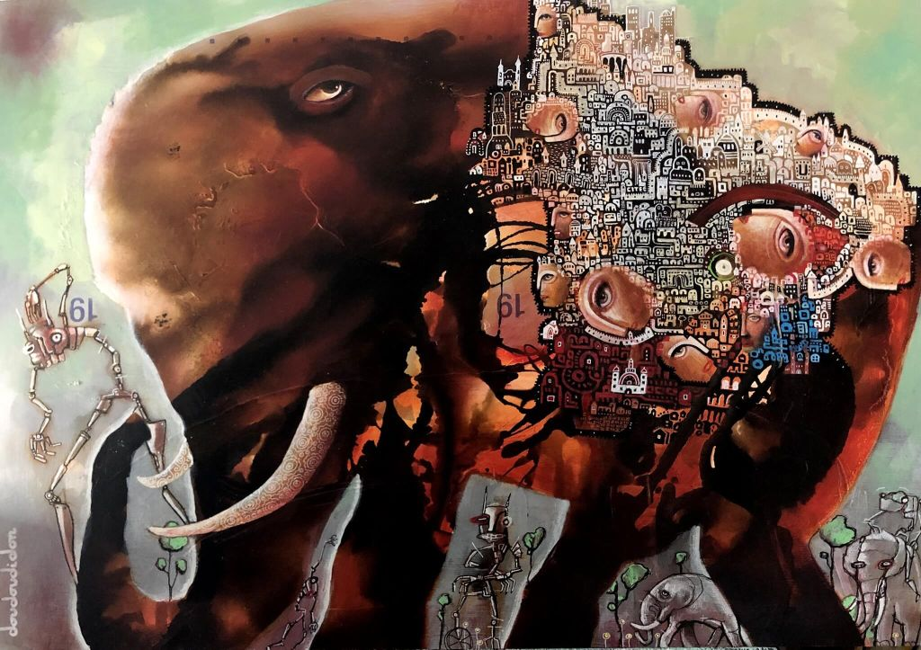 alteredside Loic Doudoudidon - recyclable soul with distort objects